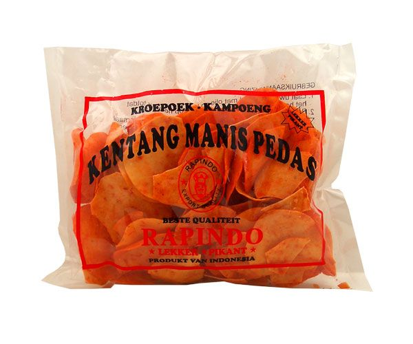 Kartoffelkrupuk, süß-scharf, 200g