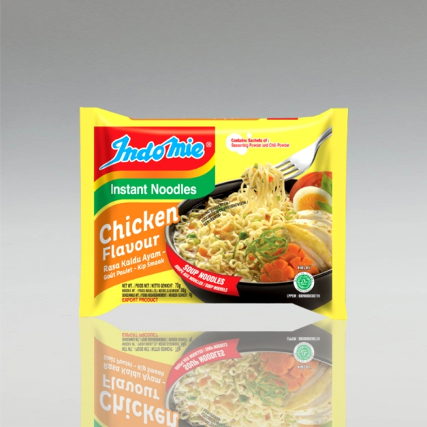 1 Karton (40 Stück) Indomie Chicken Flavour
