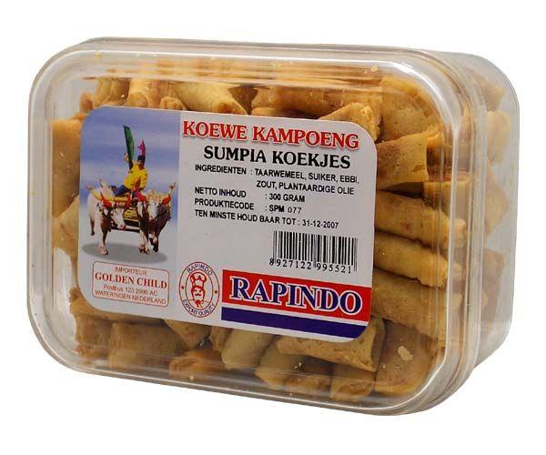 Süße Shrimptaschen (Sumpia), 150g