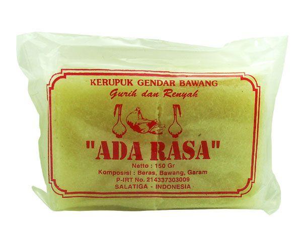 Reiskrupuk mit Zwiebelgeschmack, Adarasa, 150g