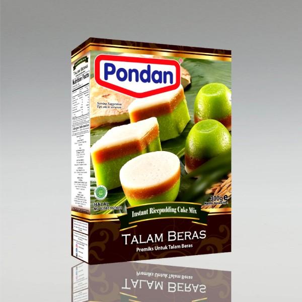 Backmischung für Reisküchlein Talam Beras, 300g