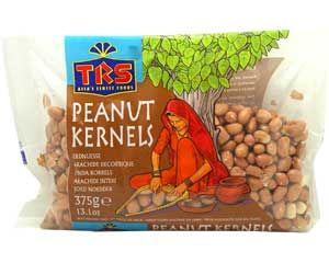 Erdnüsse mit Haut, roh, TRS, 375g