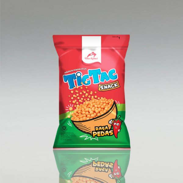 TicTac Snack, Scharf, Dua Kelinci, 90g