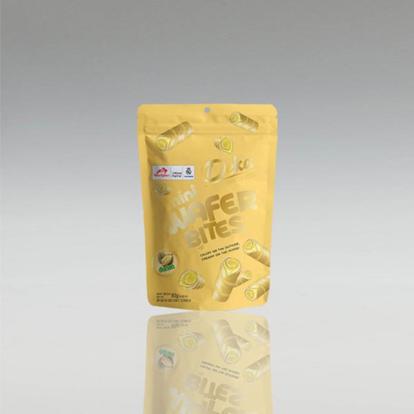 Deka Mini Durian Waffel Röllchen, Dua Kelinci, 200g