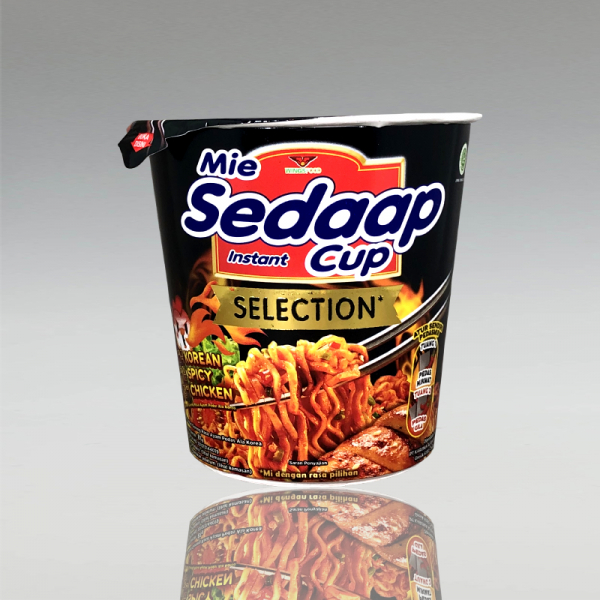 Cup Korean Spicy Chicken, Mie Sedaap 81g