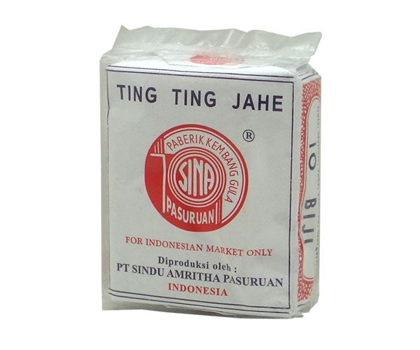 Ingwerbonbon Ting Ting Jahe Sin A, 40g