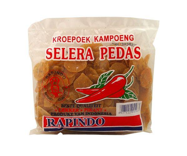 """Dorfkrupuk """"Singkong Pedas"""", scharf, 250g"""