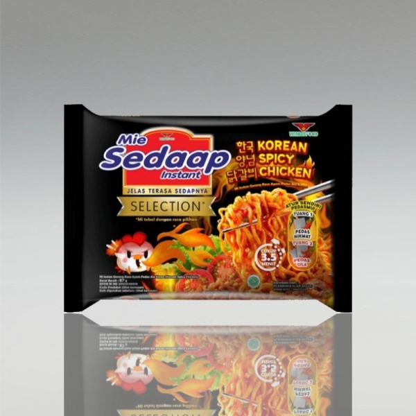 Mie Sedaap Korean Spicy Chicken, 87g
