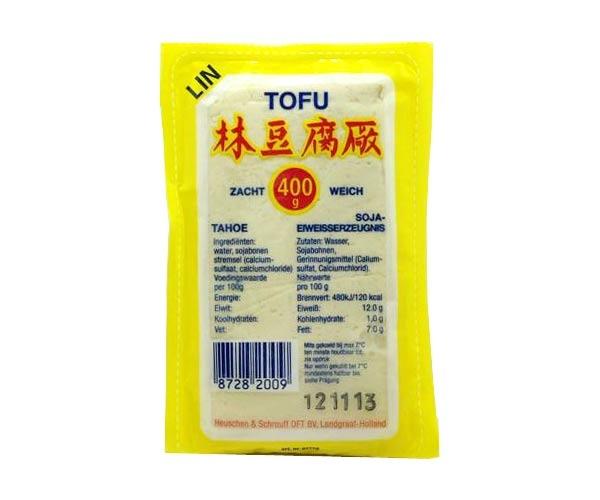 Weicher Tofu, 400g