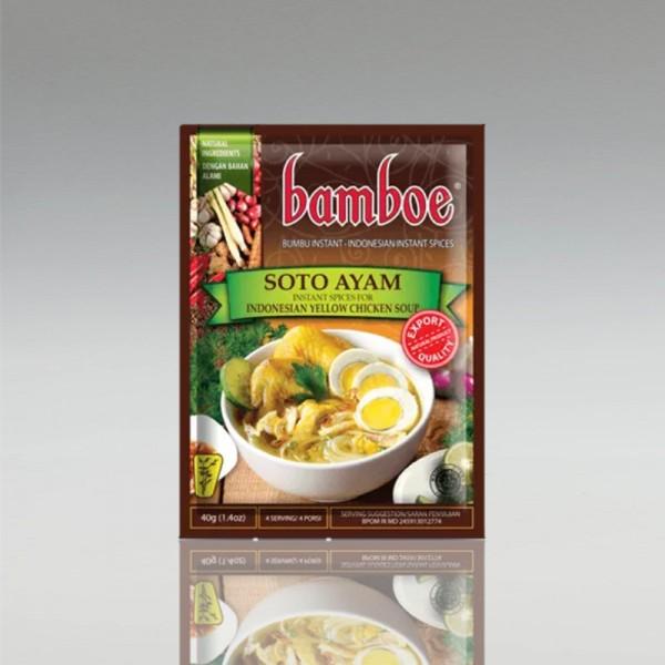 Soto Ayam, Bamboe, 40g
