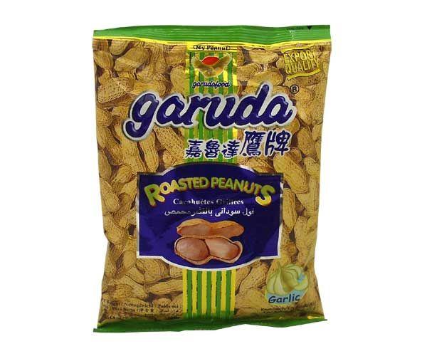 Geröstete Erdnüsse mit Knoblauchgeschmack, 140g