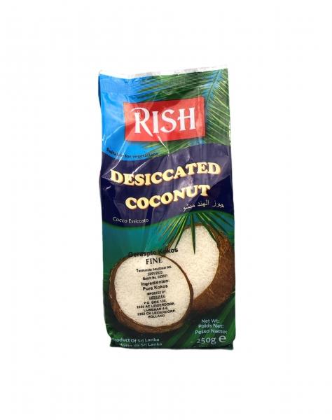 Kokosraspel, Rish, 250g
