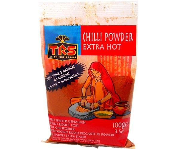 Chilipulver, extra scharf, gemahlen, 100g