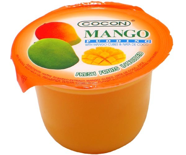 Mango Jelly Pudding, Cocon, 118g