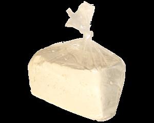 Frischer, weicher Tofu, 1 Stück