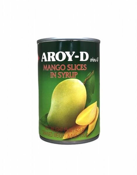 Mangoscheiben in Syrup, Aroy-D, 425g