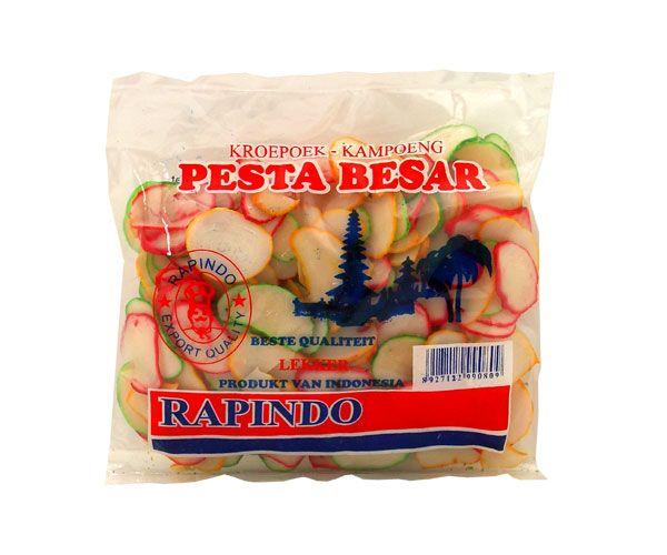 "Krupuk Kampung ""Pesta Besar/Happy"", Nesia, 250g"