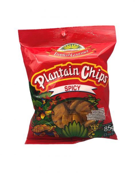 Bananenchips, scharf, Tropical Gourmet, 85g