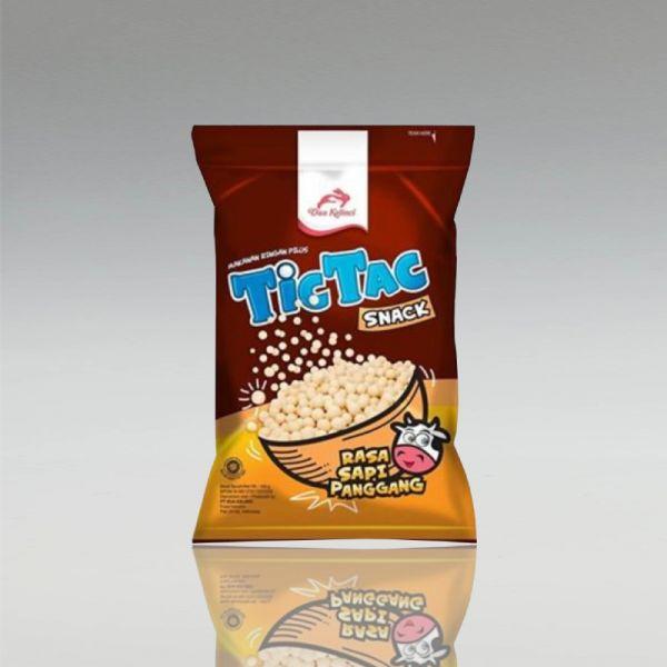 TicTac Snack, Rind Flavour, Dua Kelinci, 90g