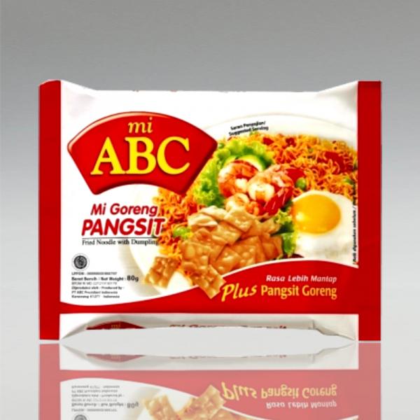 Mi Goreng Pangsit, ABC, 80g