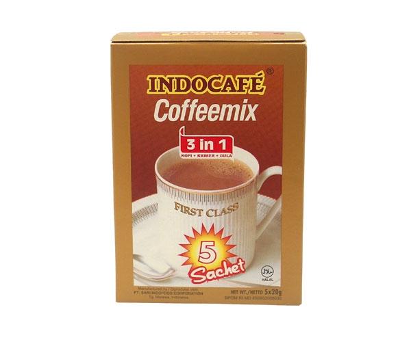Instantkaffee 3 in 1, Indocafe, 5 x 20g
