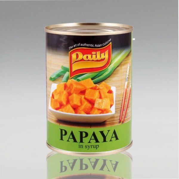 Papaya in Syrup, Daily, 565g