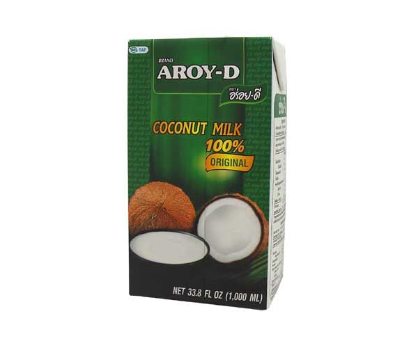 Kokosmilch 100%, Aroy-D, 1000ml
