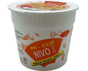 Cupnudel mit Rindfleischbällchengeschmack, 65g