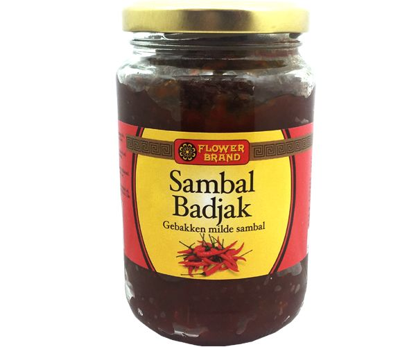 Sambal Badjak, Flower Brand, 200g