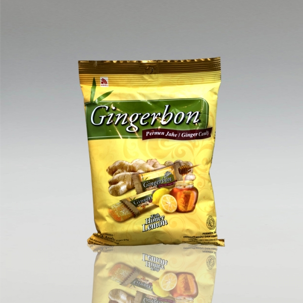 Gingerbon Honey Lemon - Ingwerbonbon mit Honig-Zitrone, 125g