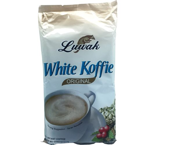 White Koffie Luwak, Less Sugar, 10 x 20g