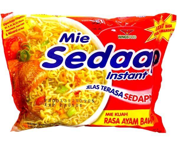 Mie Sedaap mit Hähnchen-Zwiebelgeschmack, 73g
