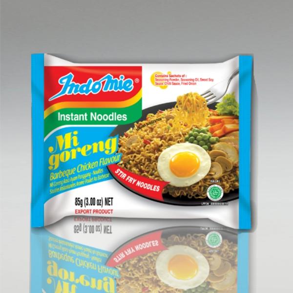 Indomie Mi Goreng BBQ Flavour, 82g