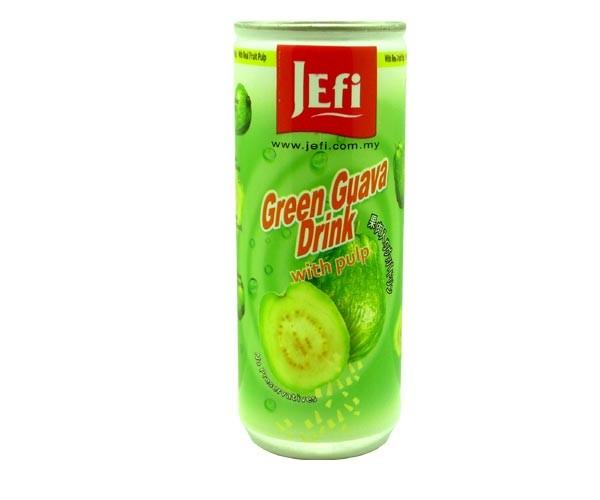 Grüner Guavesaft mit Fruchtfleisch, 240ml