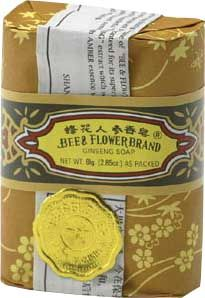 Ginsengseife, BeeFlower, 1 Stück