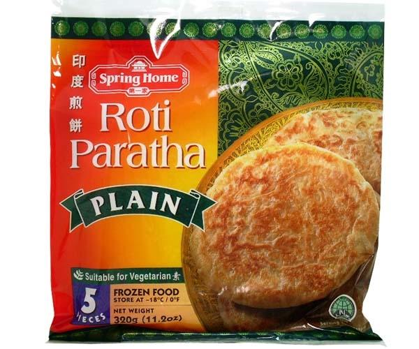 Roti Paratha, 320g (Versand nur in Deutschland)