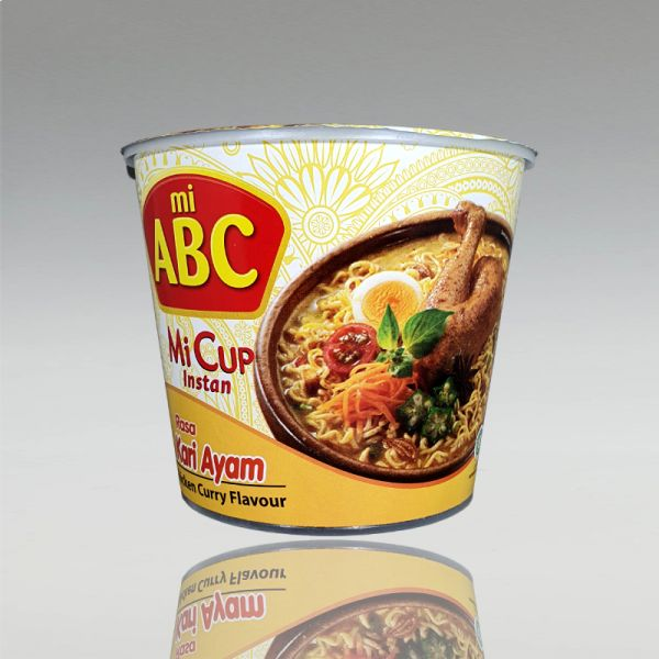 Cupnudel mit Curry-Hähnchengeschmack, ABC, 60g