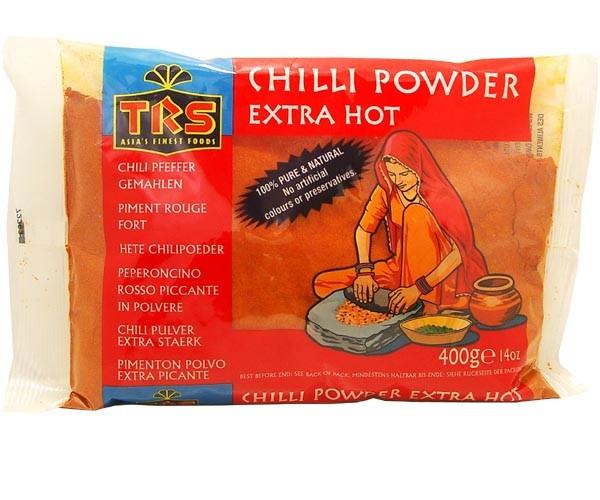 Chilipulver, extra scharf, gemahlen, 400g