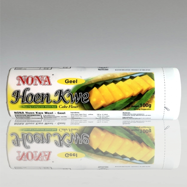 Mungbohnenmehl Tepung Hun Kwe, gelb, Nona, 100g