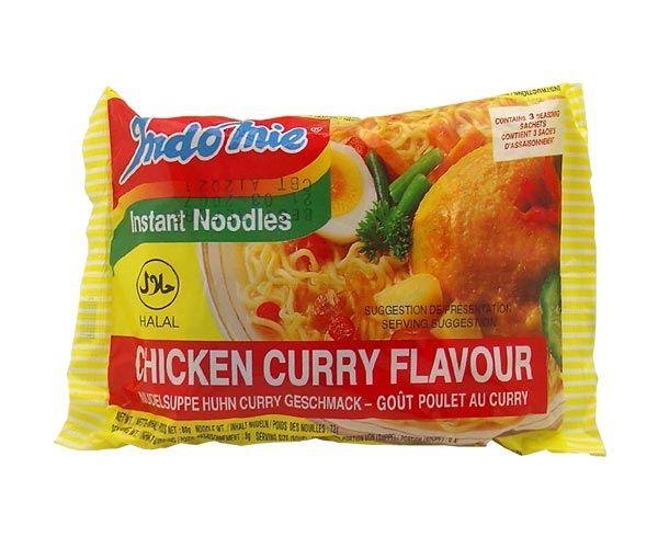 Indomie Chicken Curry Flavour, 80g
