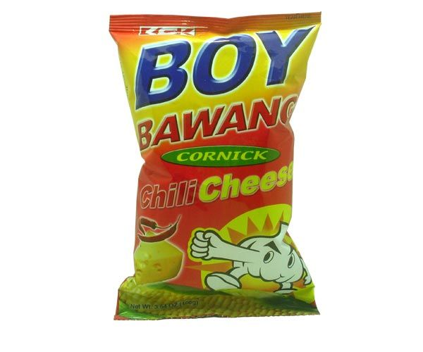 Maissnack Chili Cheese, BoyBawang, 100g