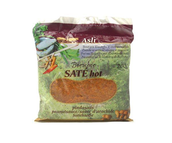 Erdnußsauße für Sate Asli, scharf, 200g