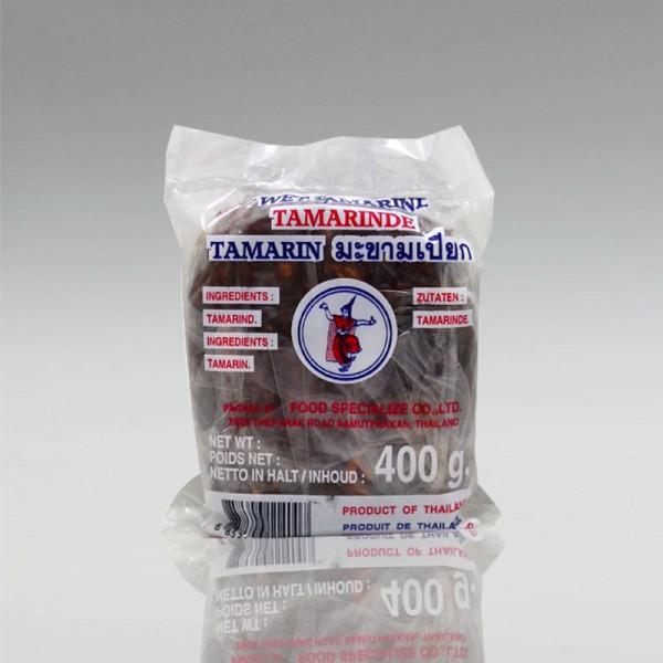 Tamarinde ohne Kerne, 400g