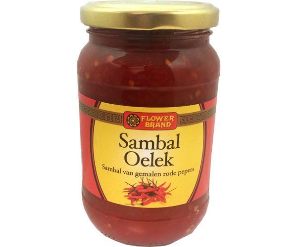 Sambal Oelek, Flower Brand, 200g