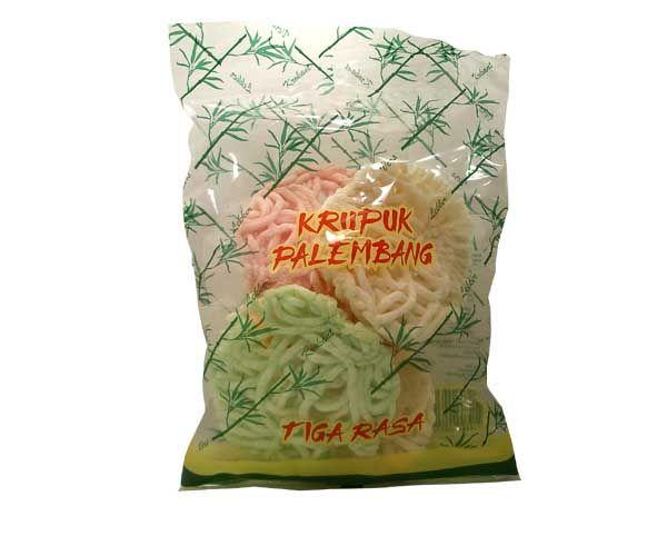"""Fischkrupuk """"Palembang"""", bunt, gebraten, 60g"""