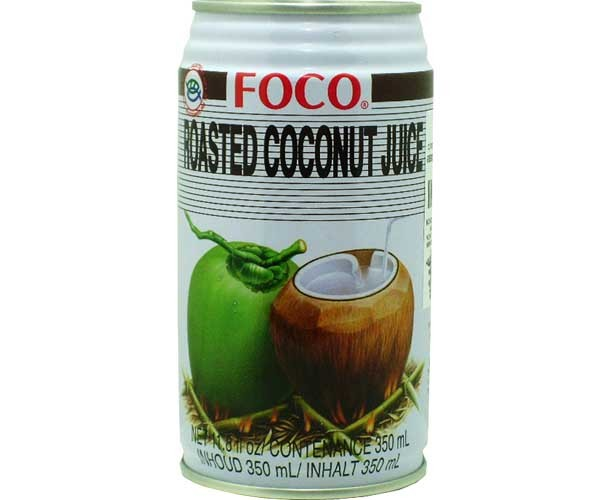 Kokosgetränk mit geröstetem Fruchtfleisch, Foco, 350ml