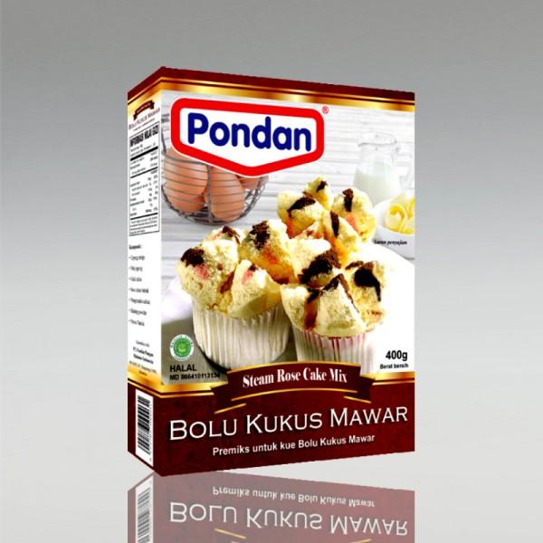 Backmischung für Ind. Muffins Bolu Kukus Mawar, 400g