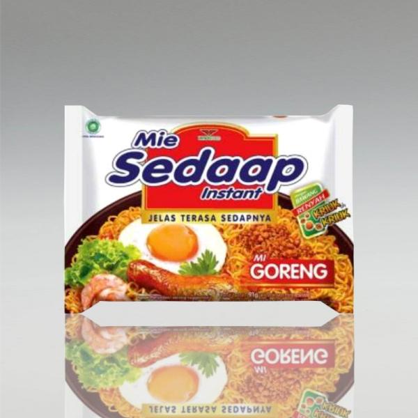 1 Karton (40 Stück) Mie Sedaap Mie Goreng, 90g