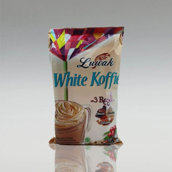 White Koffie Luwak, 3 Flavour, 10 x 20g