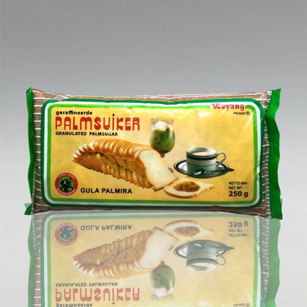Palmenzucker gemahlen, Cap Wayang, 250g